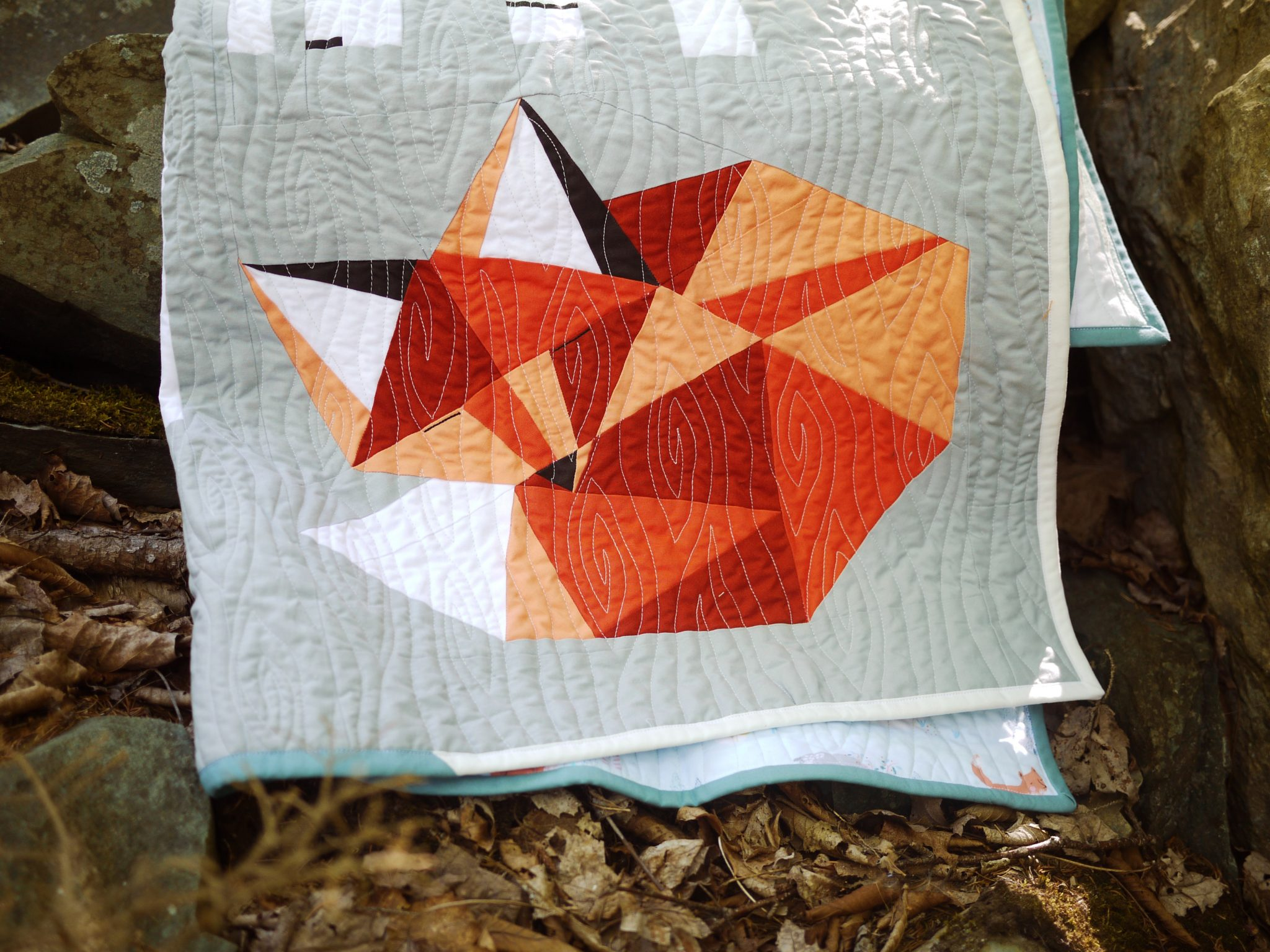 Sleepy Fox Quilt: Thoughts on the Client Relationship