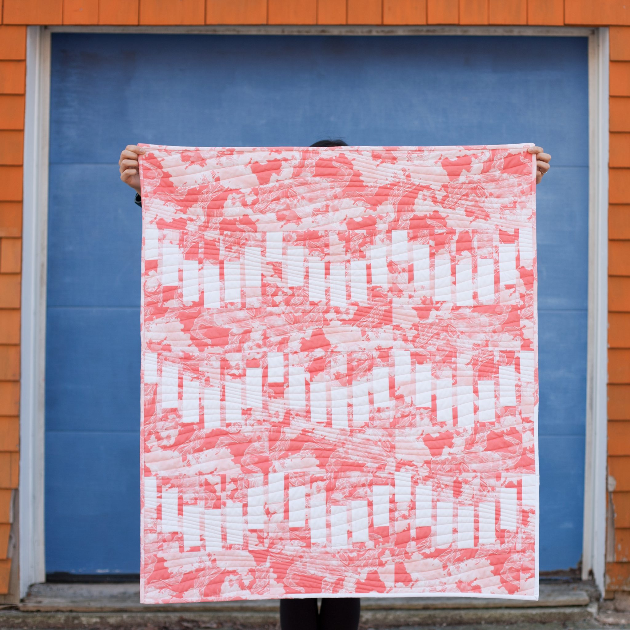 Modern quilt pattern by 3rd Story Workshop