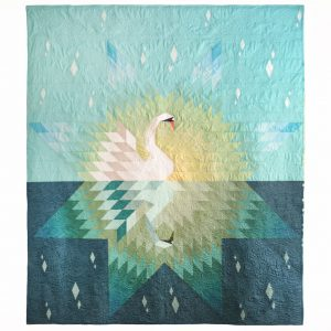 Our Song Swan Quilt, 3rd Story Workshop, Meaghan Smith