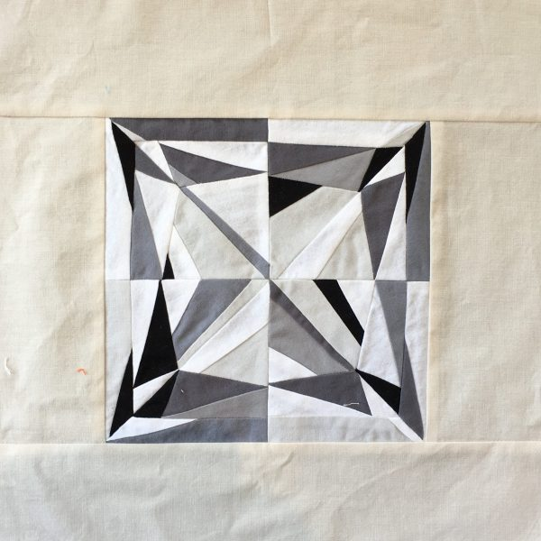 Princess Cut Diamond Quilt Block, 3rd Story Workshop