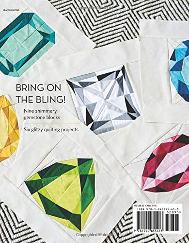 Gemology Book, Diamond Quilt, Jewel Quilt