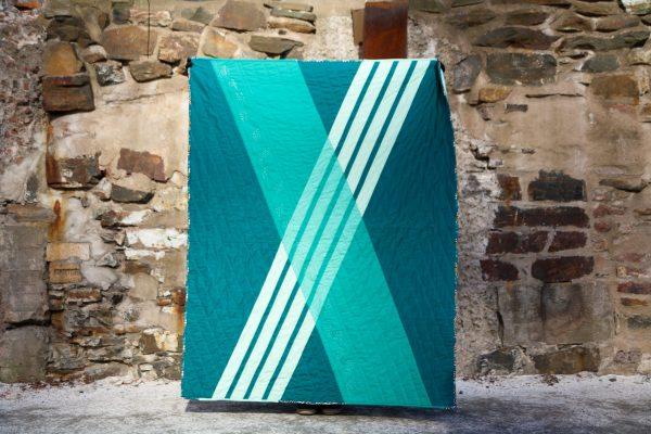 X Quilt, 3rd Story Workshop, Everyone's Got an X