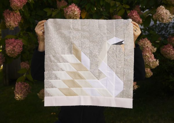 Our Song Swan Quilt Pattern, 3rd Story Workshop