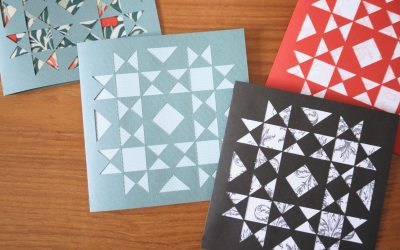 Quilt Block Cards with the Cricut Maker