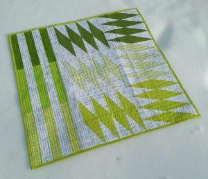 Modern Quilt Pattern, Common Ground Quilt, 3rd Story Workshop, Seam Work