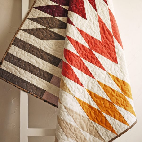 Modern Quilt Pattern, Common Ground Quilt, 3rd Story Workshop, Anja Quilts