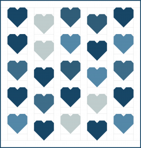 Cluck Cluck Sew - Heart Pattern - 3rd Story Workshop