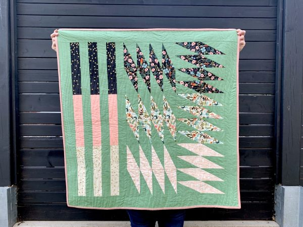 Modern Quilt Pattern, Baby Quilt, 3rd Story Workshop