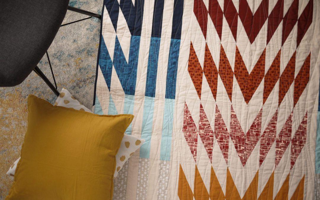 Modern Quilt Pattern, Common Ground Quilt, 3rd Story Workshop