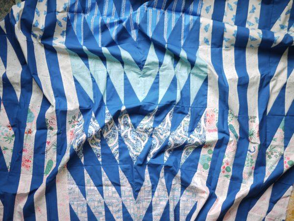 Modern Quilt Pattern, Common Ground Quilt, 3rd Story Workshop, Figo Fabrics