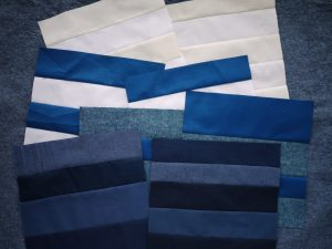 3rd Story Workshop - Quilts for Nova Scotia - Blue Quilt