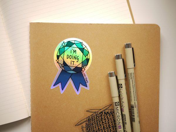 3rd Story Workshop Sticker - Award I'm Doing It