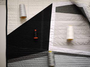 3rd Story Workshop, Textile Art, Andrea Tsang Jackson, Le Littoral, La Malbaie, Charlevoix, Vacation rental Aurifil Thread