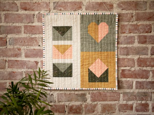 Modern Quilt Pattern - 3rd Story Workshop - Express Post, Mini Quilt