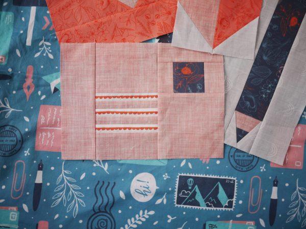 Modern Quilt Pattern - 3rd Story Workshop - Express Post, Letter Quilt