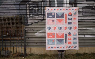 New Express Post Pattern + Free Mini Quilt Along!