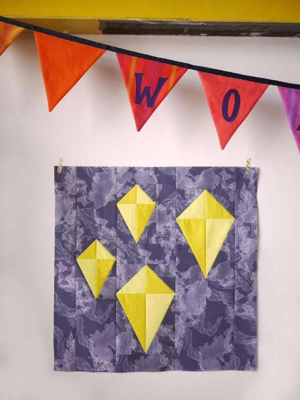 3rd Story Workshop - Kite Festival - Quilt Block Pattern