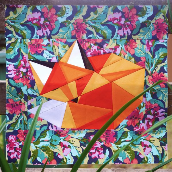 Fox Quilt Pattern - 3rd Story Workshop
