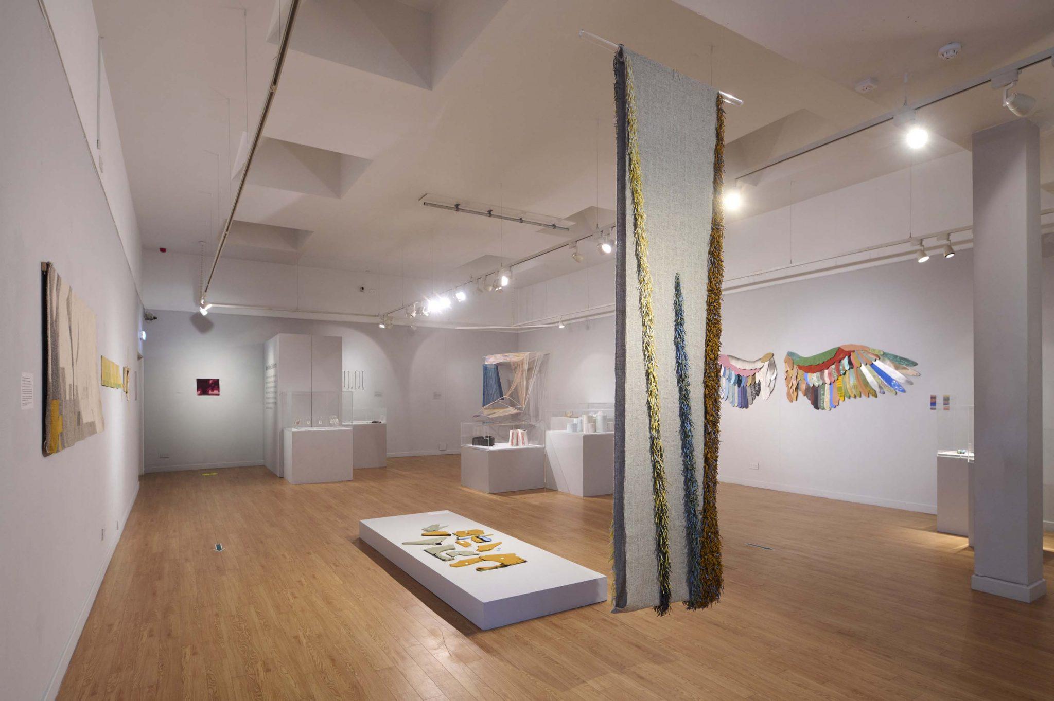 Installation view, Meet, Make, Collaborate -- Photo: Ewen Weatherspoon