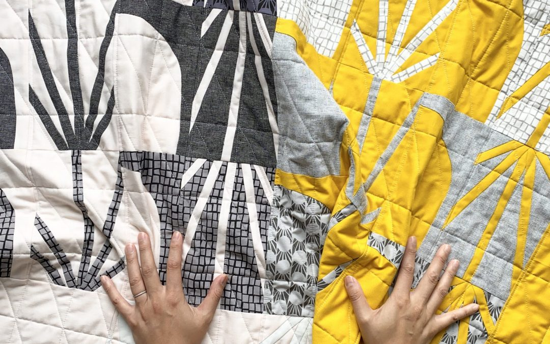 Modern Quilt, Improv Quilting - 3rd Story Workshop - Keephouse Studio