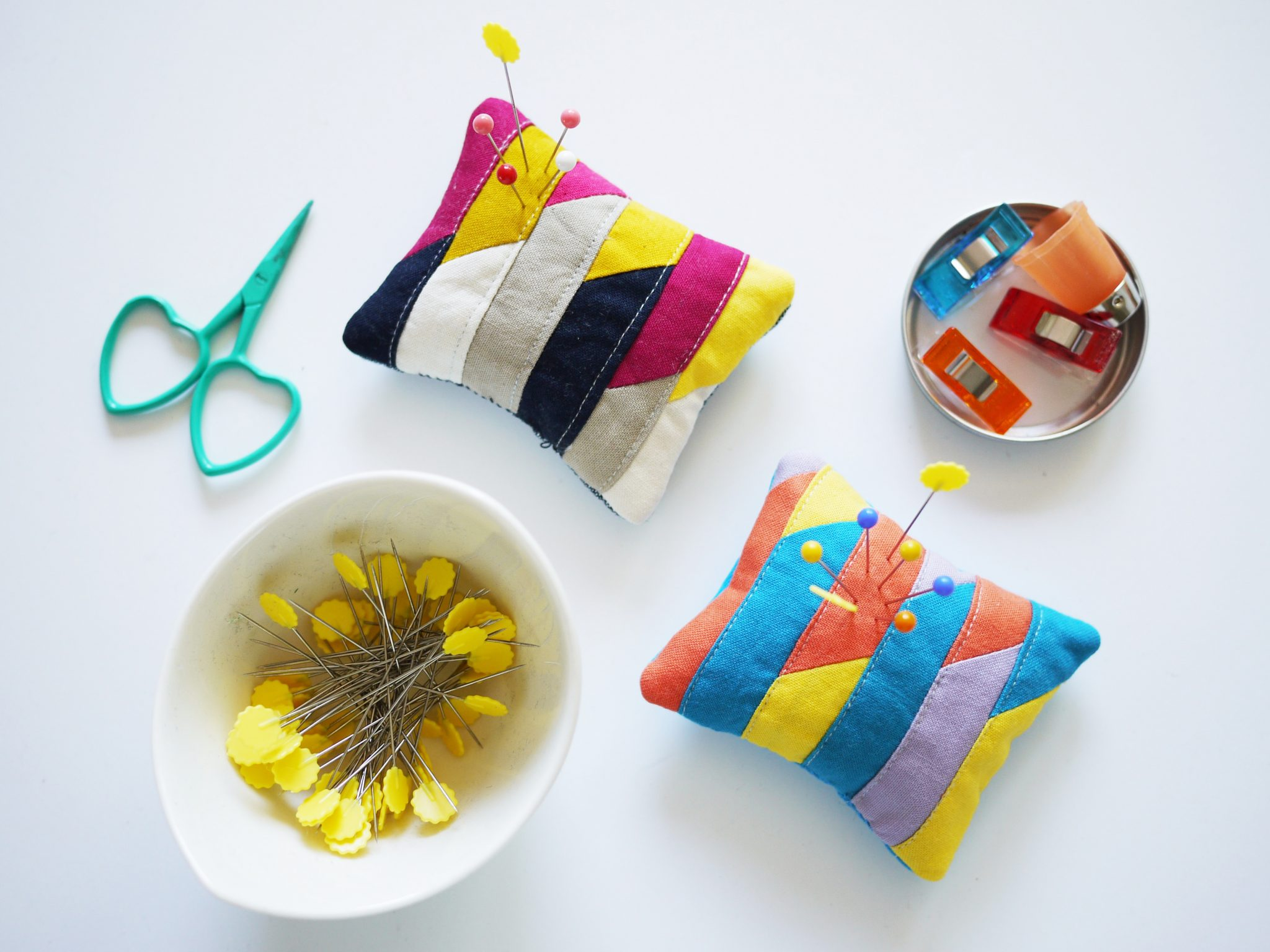 3rd Story Workshop - Pin Cushions, Colour