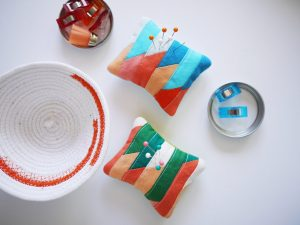 3rd Story Workshop - Pin Cushions, Complementary Colours