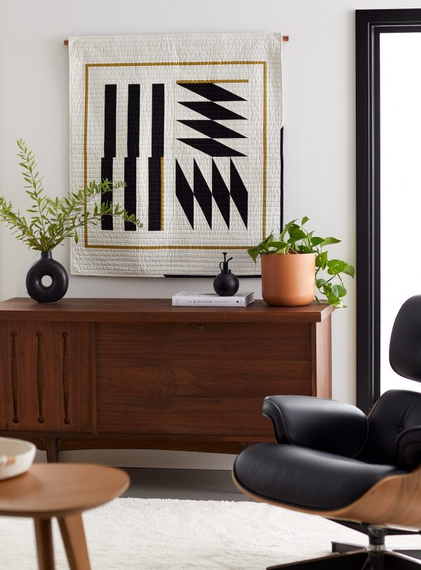 Wall Hanging - 3rd Story Workshop - Inlay - Black